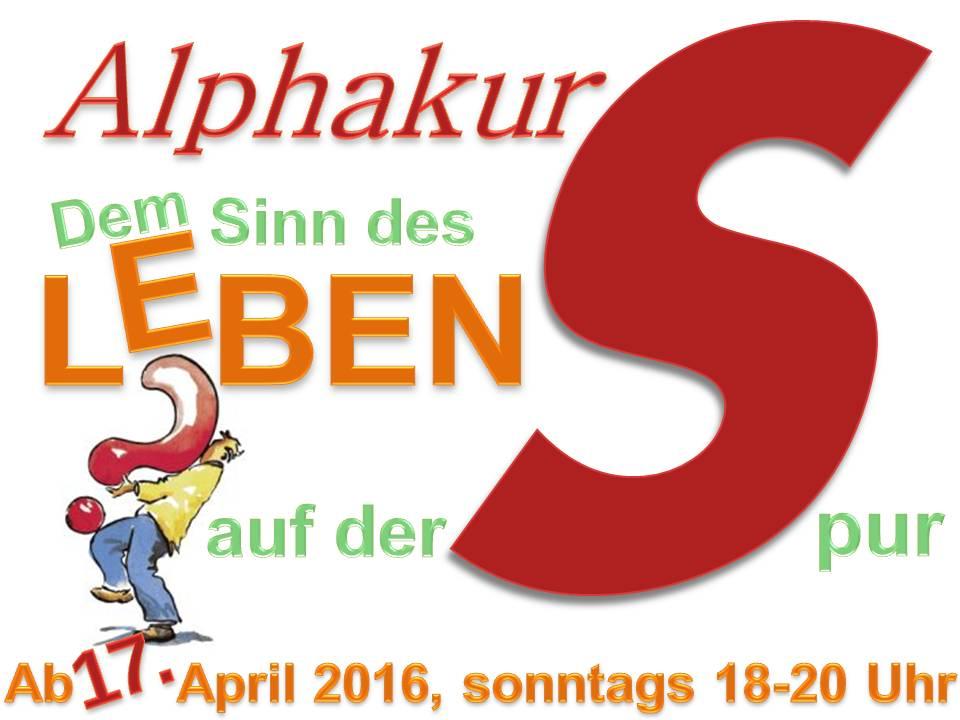 Alphakurs 2016