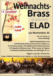 Adventskonzert ELAD Flyer als Bild