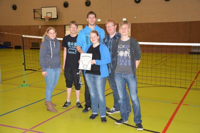 Auricher Volleyballnacht 2016 Siegerehrung