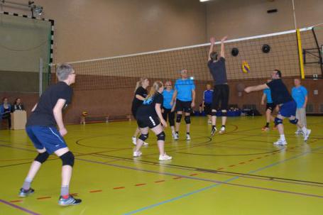 Auricher Volleyballnacht 2016 Abwehr