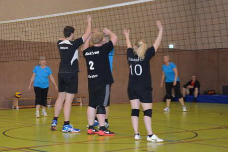 Auricher Volleyballnacht 2016 Block